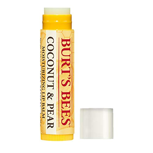 Burt's Bees - Burt's Bees 100% Natural Moisturizing Lip Balm, Coconut & Pear with Beeswax & Fruit Extracts - 1 Tube