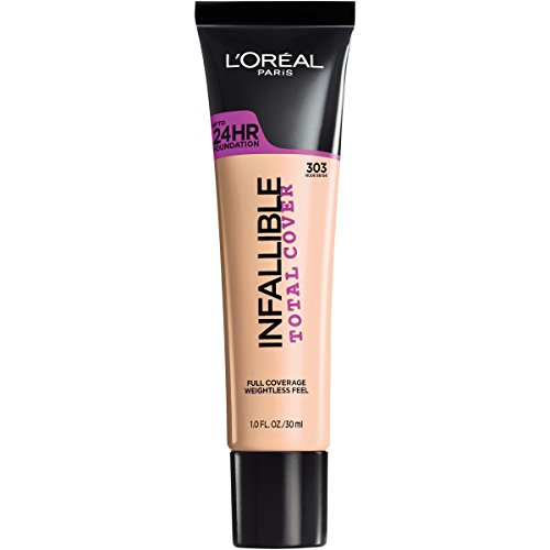 L'Oreal Paris - Infallible Total Cover Foundation, Nude Beige