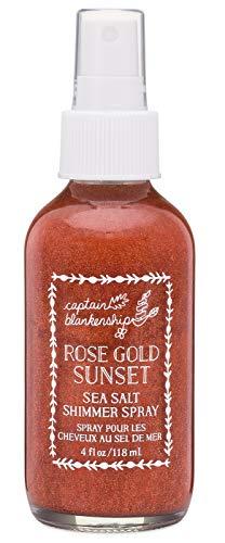 Captain Blankenship - Captain Blankenship - Organic Rose Gold Sunset Sea Salt Shimmer Spray (4 oz)