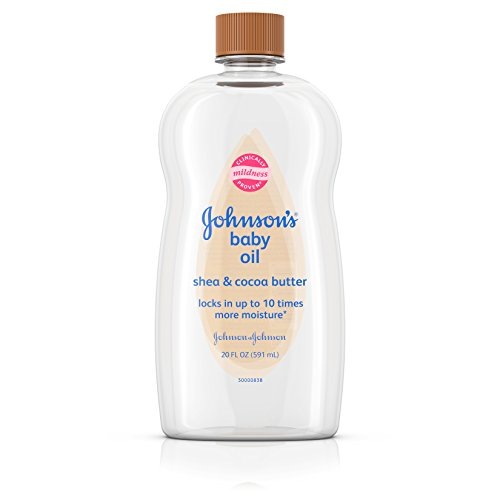 Johnson's Baby - Johnson's Baby Oil With Shea & Cocoa Butter, 20 Fl. Oz