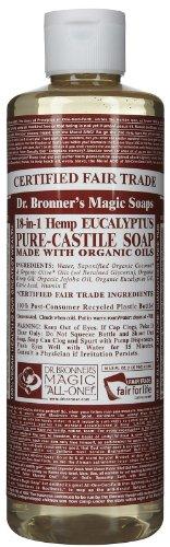 Dr. Bronner's - Castile Eucalyptus Liquid Soap