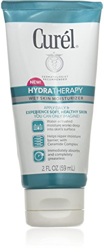 null - Curel Hydra Therapy Wet Skin Moisturizer! Dermatologist Recommended! Includes One 2 Ounce Tube! For Healthier Looking Skin!