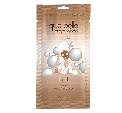 Que Bella PRO Que Bella 2-in-1 Coffee Scrub & Mud Mask 0.5oz, pack of 1