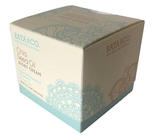 Rata & Co - Rata & Co. New Zealand Chia Seed Oil Night Cream