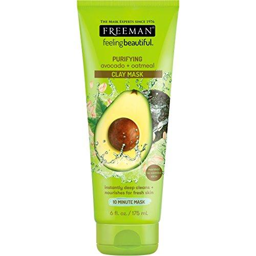 Freeman - Avocado & Oatmeal Clay Masque