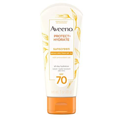 Aveeno - AVEENO Active Naturals Protect + Hydrate Lotion Sunscreen SPF 70 3 oz