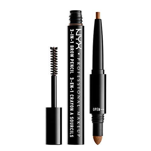 NYX PROFESSIONAL MAKEUP NYX Professional Makeup 3 In 1 Brow Pencil, Caramel