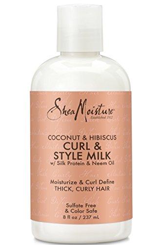 Shea Moisture Coconut & Hibiscus Curl & Style Milk