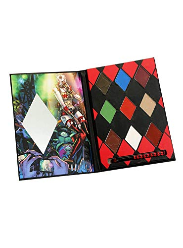 TV Movie Fashion - Pop Culture Referenced Eye Shadow Palette Makeup Kits (DC Comics: Harley Quinn and The Skull Bags)