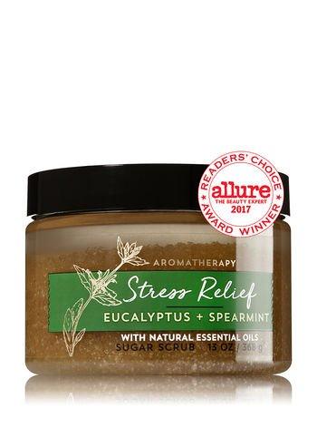 Aromatherapy Stress Relief - Eucalyptus & Spearmint Sugar Scrub
