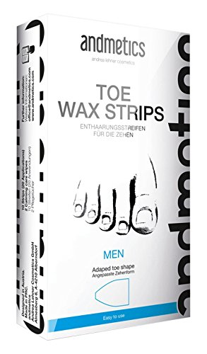 Andmetics - Depilatory Strips for Men Toes
