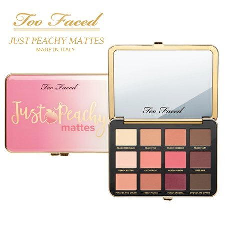 Too Faced - Just Peachy Mattes Eye Shadow Palette