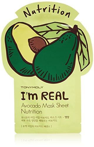 TONYMOLY - TONYMOLY I'm Real Avocado Nutrition Mask Sheet