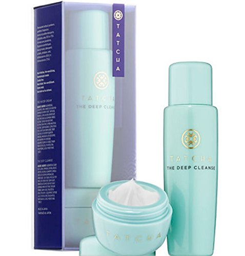 Tatcha Tatcha Pore-Perfecting Moisturizer & Cleanser Duo - Water Cream & Deep Cleanse