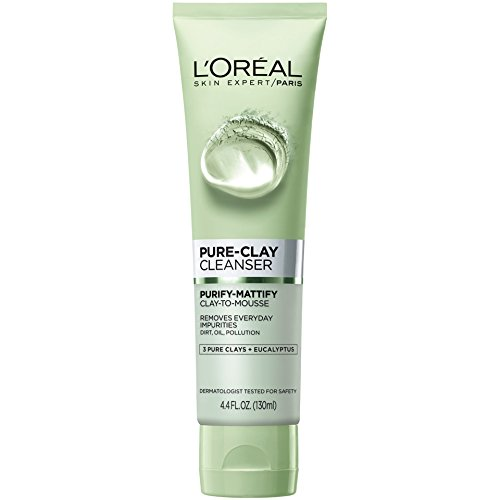 L'Oreal Paris - Pure Clay Cleanser, Purify & Mattify