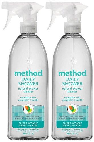 Method - Method Daily Shower Spray - Eucalyptus Mint - 28 oz - 2 pk