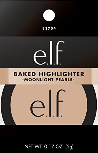 e.l.f. Cosmetics - e.l.f. Baked Highlighter, Moonlight Pearl, 0.17 Ounce