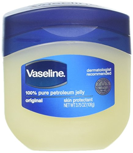 Vaseline Vaseline 100% Pure Petroleum Jelly Skin Protectant 3.75 oz (Pack of 2)