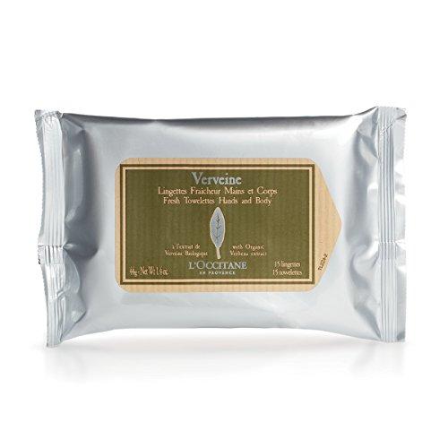 L'Occitane - Verbena Refreshing Towelettes