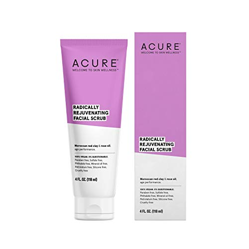 Acure - ACURE Radically Rejuvenating Facial Scrub, 4 Fl. Oz. (Packaging May Vary)