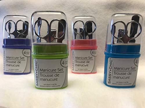 Michelle's - Manicure Set (4) Pcs Set w/ Plastic case by Michelle's