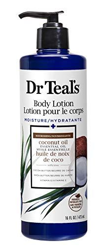 Dr Teal's - Dr Teal's Body Lotion Moisture plus Nourishing Coconut Oil, 16 fl oz