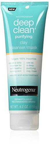 Neutrogena - Deep Clean Mask/Cleanser Purifying Clay
