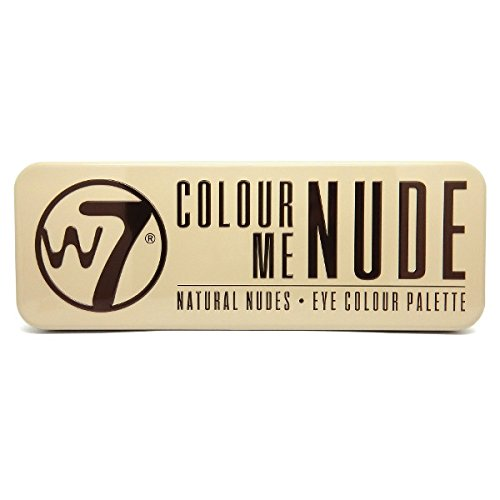 W7 - Colour Me Nude, Eye Colour Palette