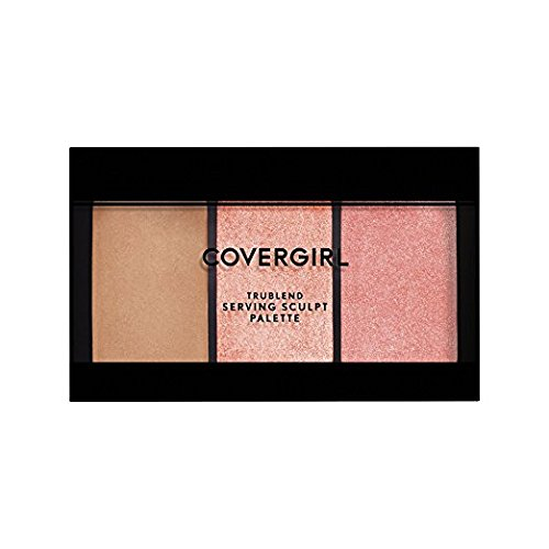 CoverGirl - Trublend Serving Sculpt Contour Palette, Bloom Babe