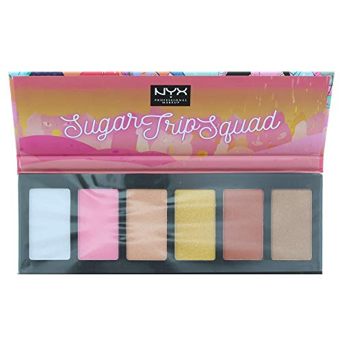 NYX - NYX Sugar Trip Squad Highlighting Palette 6 X 5g