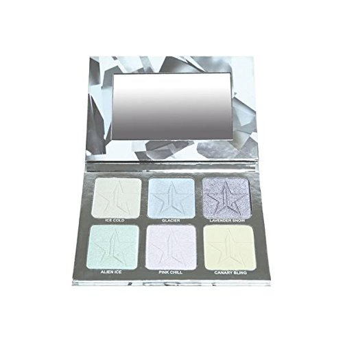 null - Jeffree Star Holiday Glitter Collection - Platinum Ice Skin Frost Pro Palette