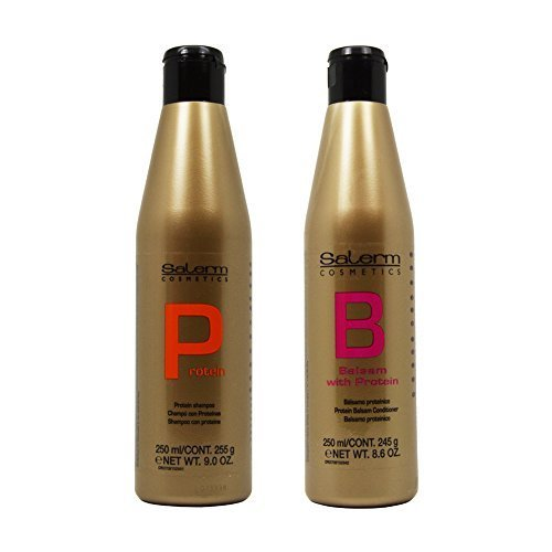 "Salerm Salerm Protein Shampoo & Balsam Conditioner 250ml Duo ""Set"""