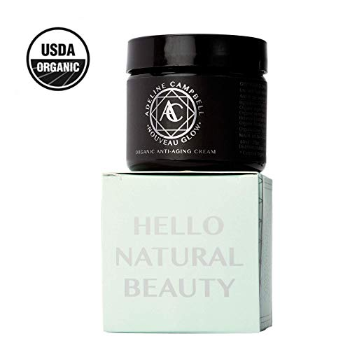 Adeline Campbell - USDA Organic Skin Care | Anti Aging Cream For Eyes and Face | - Hydrating Moisturizer | Perfect For Sensitive, Acne, Or Oily Prone Skin | Paraben Free | Cruelty Free | Made In USA. 2 FLOZ