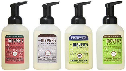 Mrs. Meyers - Mrs. Meyers Clean Day 4-Piece Foaming Hand Soap Variety Pack (10 oz Each)