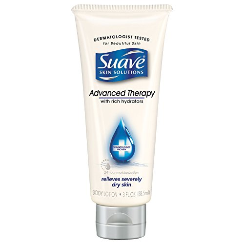 SUAVE HBL - Suave Skin Solutions Body Lotion, Advanced Therapy, 3 oz