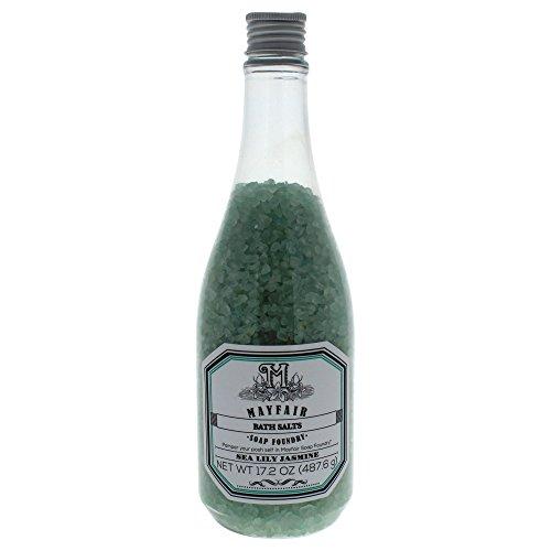 Mayfair - Mayfair Soap Foundry Sea Lily Jasmine Bath Salts for Women, 17.2 Ounce