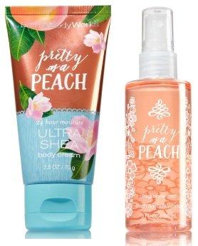 Bath & Body Works - Pretty As A Peach Travel Size Ultra Shea Body Cream
