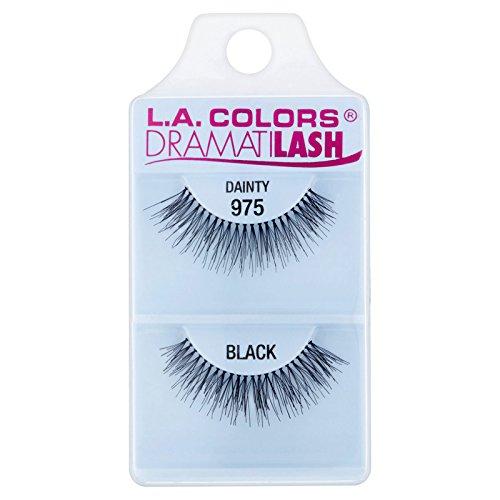 L.A. COLORS - L.A. Colors Dramatilash Dainty Eyelash, Black, 0.01 Ounce