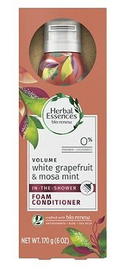 Herbal Essences - Herbal Essences Bio:Renew White Grapefruit & Mosa Mint Shower Foam Conditioner, 6 oz, pack of 1