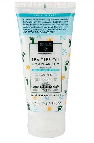 Earth Therapeutics - Earth Therapeutics Tea Tree Oil Foot Repair Balm - 6 fl. oz.
