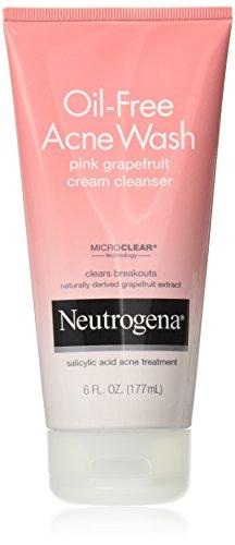 Neutrogena - Acne Wash Pink Grapefruit Cream Facial Cleanser