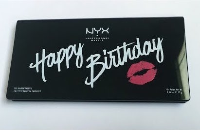 NYX - Happy Birthday Eye Shadow Palette