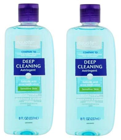 Equate Beauty. - Equate Beauty Deep Cleaning Astringent for Sensitive Skin, 8 Oz (Pack of 2)