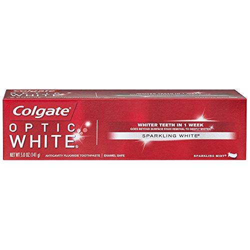 Colgate - Colgate Optic White Whitening Toothpaste, Sparkling Mint - 5 ounce