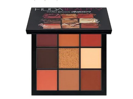 Huda Beauty Obsessions Eyeshadow Palette, Warm Brown