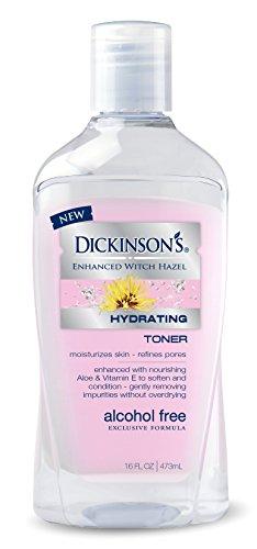 Dickinson's - Dickinson's Enhanced Witch Hazel Alcohol Free Hydrating Toner, 16 Fluid Ounce