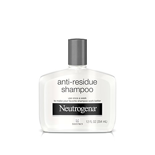 Neutrogena - Neutrogena Anti-Residue Shampoo, Gentle Non-Irritating Clarifying Shampoo to Remove Hair Build-Up & Residue, 12 fl. oz