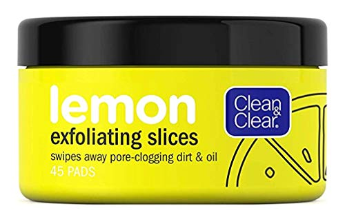 Clean & Clear - Clean & Clear Lemon Exfoliating Slices 45 Count (2 Pack)