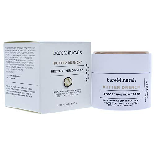 Bare Escentuals - bareMinerals Butter Drench Restorative Rich Cream, 1.7 Ounce