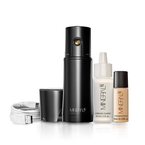 Mineral Air - Mineral Air Complexion Starter Kit   Flawless Mineral Foundation Application - Medium